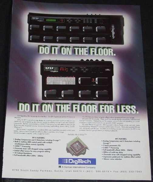 DIGITECH - RP5 & RP10 Magazine Ad - Others