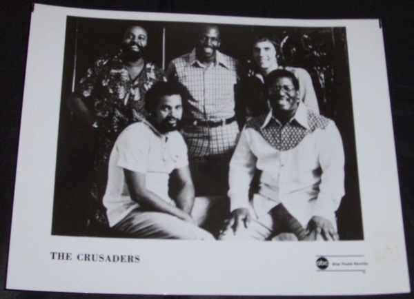 CRUSADERS - 8 X 10 ABC / Blue Thumb Records Photo - Autres