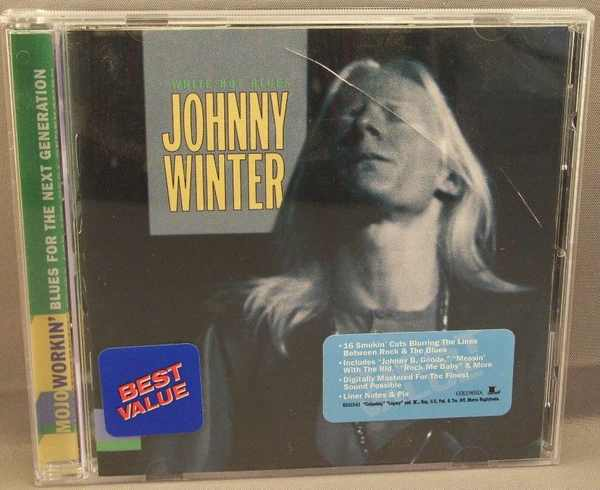 WINTER,  JOHNNY - White Hot Blues - CD