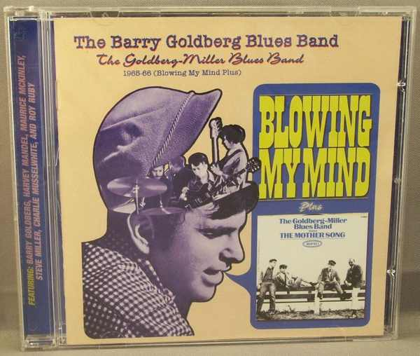 Goldberg, Barry - 1965 - 66 Blowing My Mind Plus CD - Click Image to Close