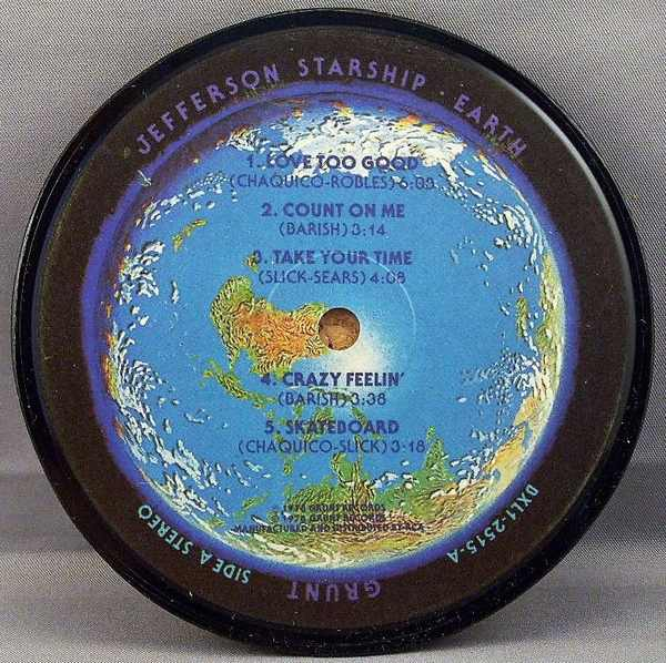 JEFFERSON STARSHIP - Earth - Drink Coaster