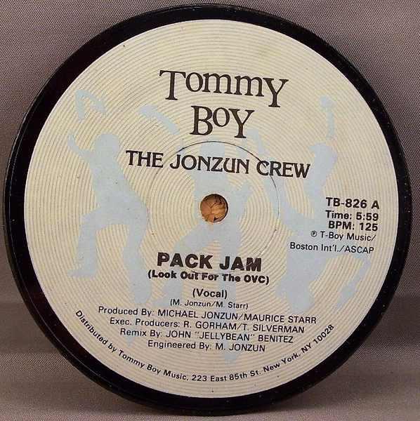 JONZUN CREW - Pack Jam - Sous-Boque