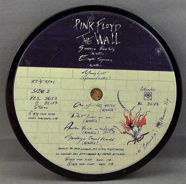 PINK FLOYD - The Wall - Sous-Boque