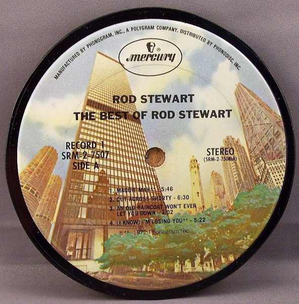 STEWART,  ROD - Best Of Rod Stewart - Sous-Boque