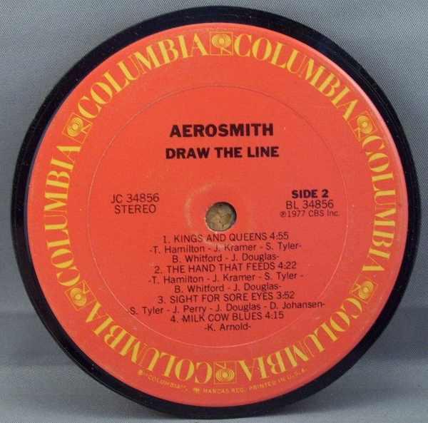 AEROSMITH - Draw The Line - Drink Coaster