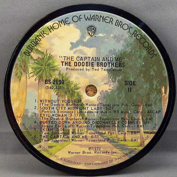 DOOBIE BROTHERS - Captain and Me - Drink Coaster
