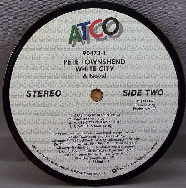 TOWNSHEND,  PETE - White City - Drink Coaster