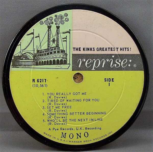 KINKS - Kinks Greatest Hits - Sous-Boque