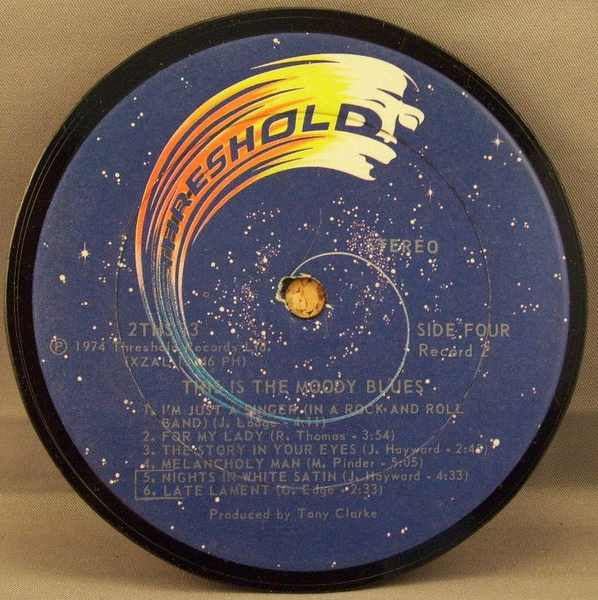 MOODY BLUES - This Is The Moody Blues (side 4) - Drink Coaster