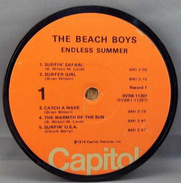 BEACH BOYS - Endless Summer - Sous-Boque