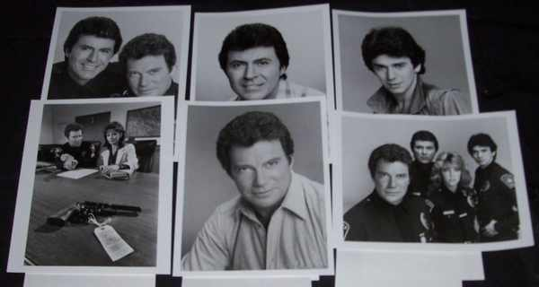 SHATNER,  WILLIAM,  HEATHER LOCKLEAR,  JAMES DARRE - T.J. Hooker TV Show Promo Photos - Autres