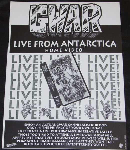 GWAR - Live From Antarctica - Autres