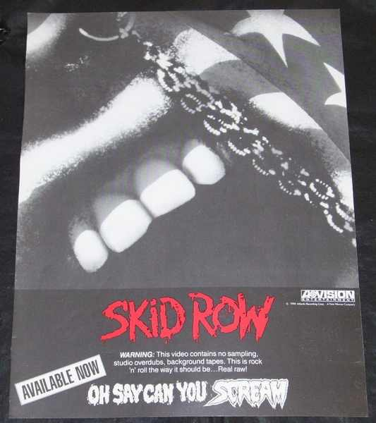 SKID ROW - Oh Say Can You Scream - Autres