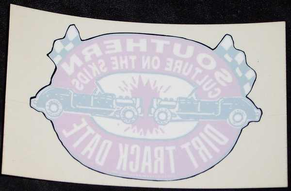 SOUTHERN CULTURE ON THE SKIDS - Dirt Track Date Window - Sticker