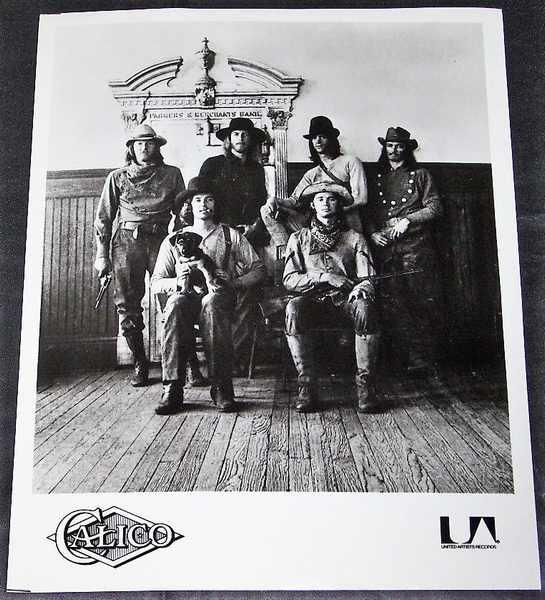 CALICO - Self Titled Calico 8 X 10 Promo Photo - Autres