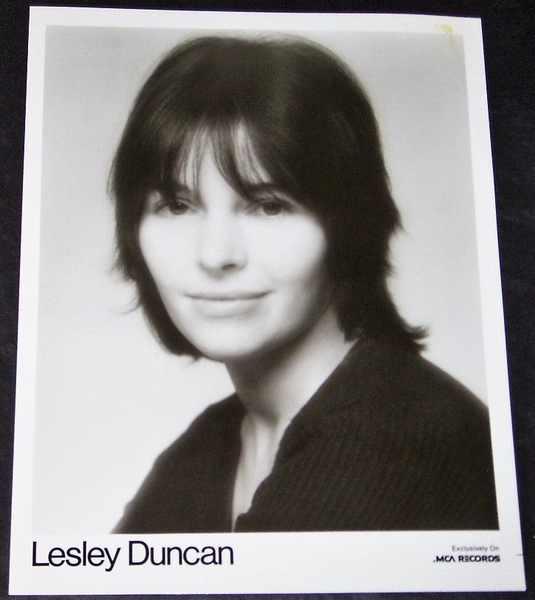 DUNCAN,  LESLEY - 8 X 10 Promo Photo - Autres