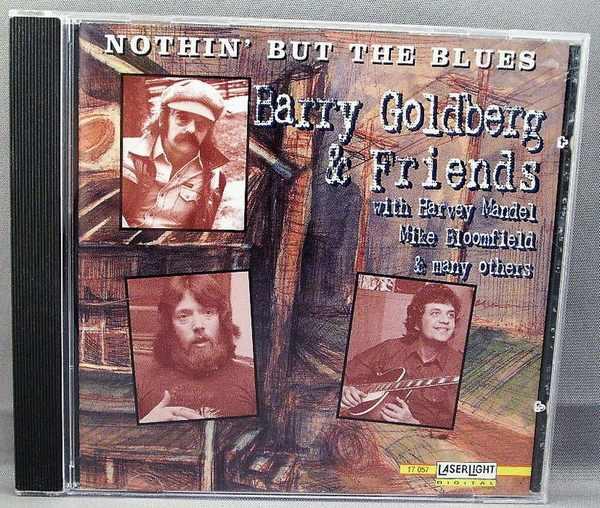 GOLDBERG,  BARRY - Nothin But The Blues - CD