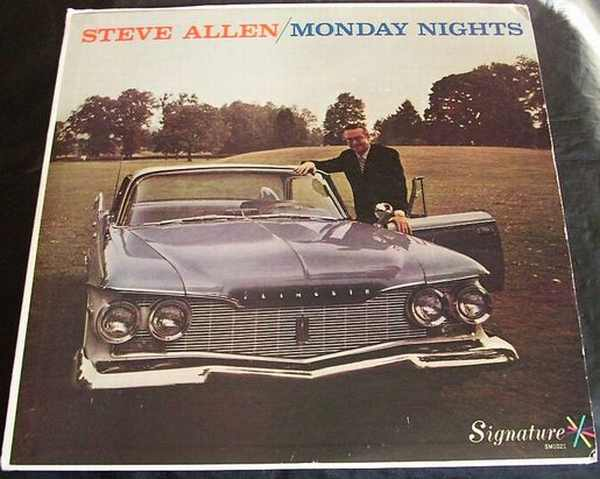 ALLEN,  STEVE - Monday Nights - LP