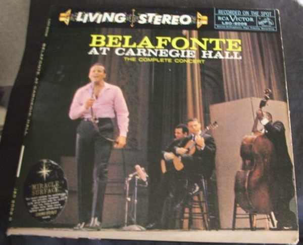 BELAFONTE,  HARRY - Belafonte At Carnegie Hall - LP