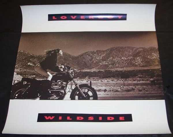 Loverboy - Wildside 1987 Promo Poster - Click Image to Close