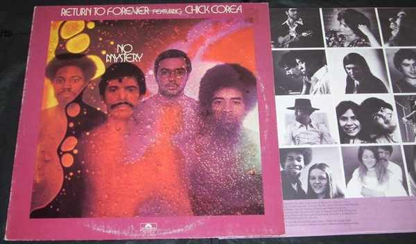 RETURN TO FOREVER - No Mystery - LP