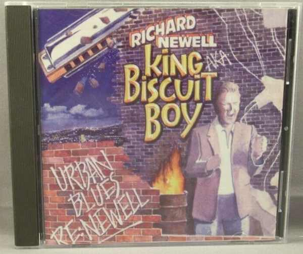 KING BISCUIT BOY (RICHARD NEWELL) - Urban Blues Re: Newell - CD