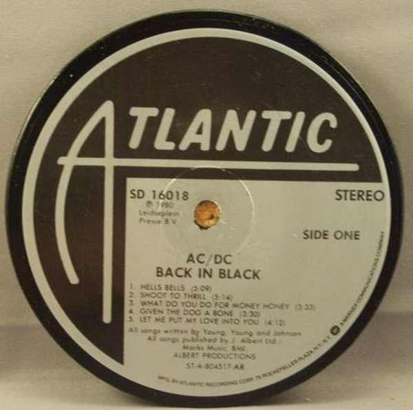 AC/DC - Back In Black - Drink Coaster