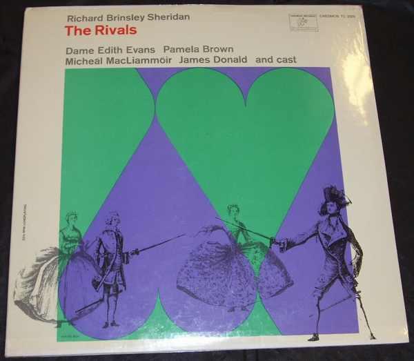 SHERIDANRICHARD BRINSLEY - The Rivals - LP
