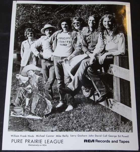 PURE PRAIRIE LEAGUE - 8 X 10 Promo Photo - Autres