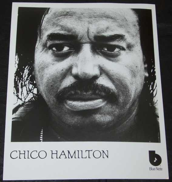 HAMILTON,  CHICO - 8 X 10 Blue Note Promo Photo - Autres