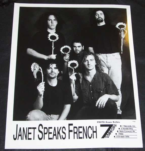 JANET SPEAKS FRENCH - 8 X 10 Promo Photo - Autres