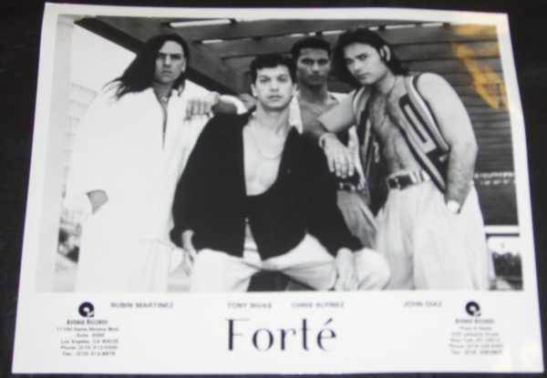 FORTE' - 8 X 10 Promo Photo - Autres