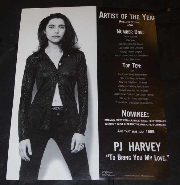 HARVEY,  PJ - To Bring You My Love  Billboard Trade Ad 1996 - Autres