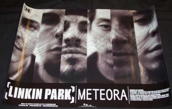 LINKIN PARK - Meteora - ポスター