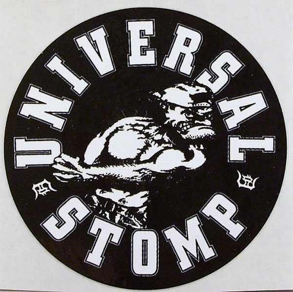 UNIVERSAL STOMP - Universal Stomp - Sticker