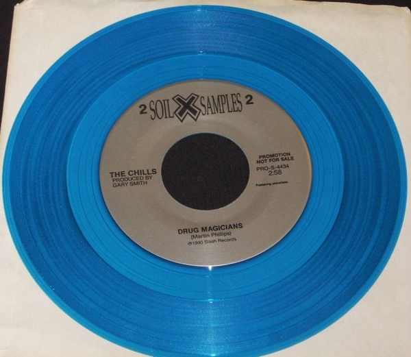 CHILLS - Drug Magicians B/W John Wesley Harding - Heavenly Pop Hit - 45T x 1
