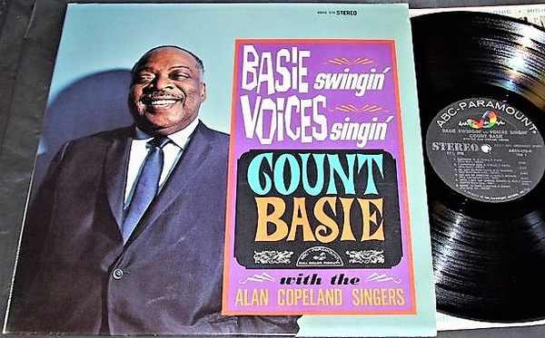 BASIE,  COUNT - Basie Swingin Voices Singin - LP