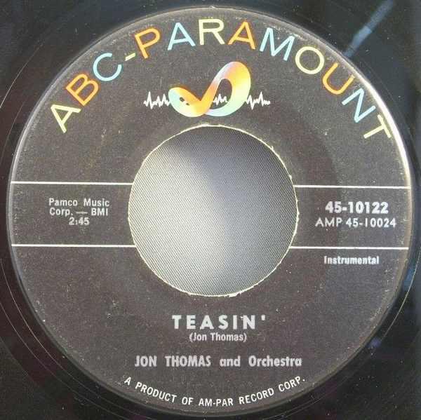 THOMAS,  JON - Teasin' / Heartbreak - 45T x 1