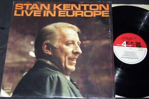 KENTON, STAN - Stan Kenton Live In Europe - LP