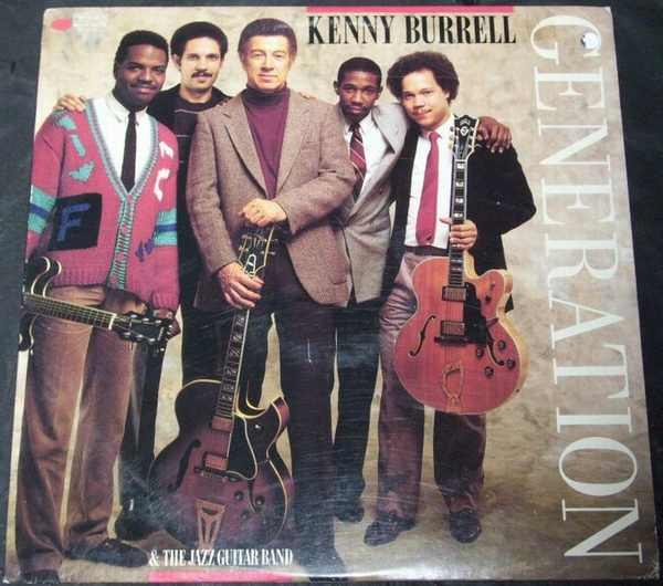 BURRELL,  KENNY AND THE JAZZ GUITAR BAND - Generation - LP