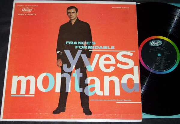 MONTAND,  YVES - France's Formidable Yves Montand - LP
