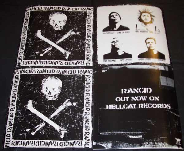 RANCID - Self Titled Rancid - Poster / Affiche