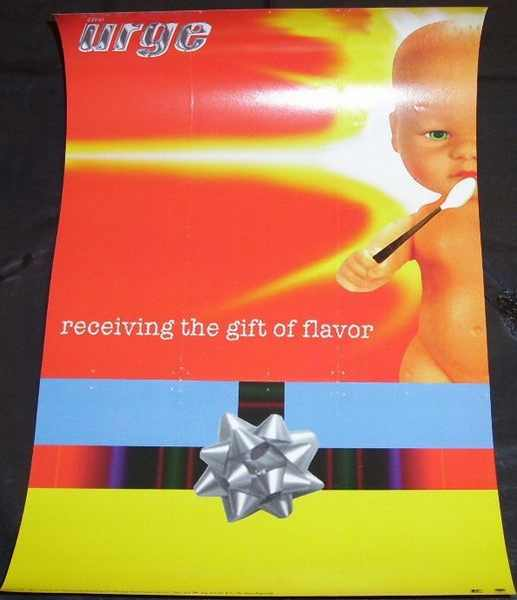URGE - Receiving The Gift Of Flavor - Poster / Affiche