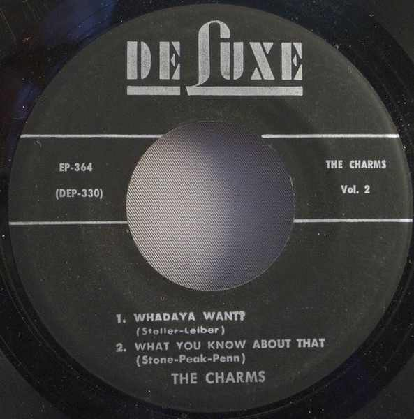 CHARMS - Hits By The Charms - 7inch x 1