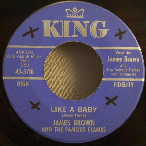 BROWN,  JAMES - Like A Baby / Every Bit of My Heart - 7inch x 1