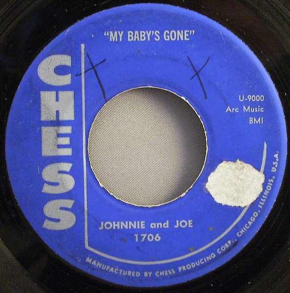 JOHNNIE AND JACK - My Baby's Gone / Darling - 7inch x 1