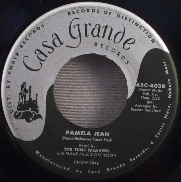 TUNE WEAVERS - Pamela Jean / I Remember Dear - 7inch x 1