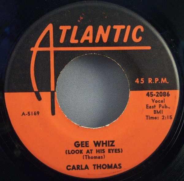 THOMAS,  CARLA - Gee Whiz / For You - 7inch x 1