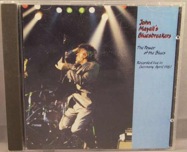 MAYALL,  JOHN - Power of The Blues Live Germany April 1987 - CD