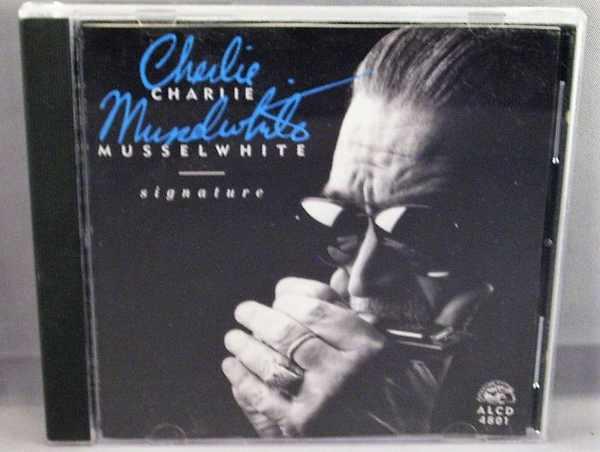 MUSSELWHITE,  CHARLIE - Signature - CD
